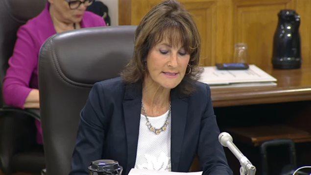 وزيرة الهجرة والتعددية والاحتواء المجتمعي في حكومة كيبيك كاثلين فيل (أرشيف)