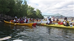 Défi Kayak au profit de l'organisme Jeunes musiciens du monde