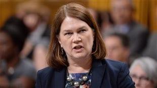 La ministre de la Santé, Jane Philpott, à la Chambre des communes