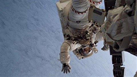 L'astronaute canadien Steve Maclean