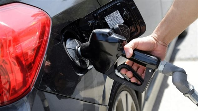 Prices at the pump were 15.9 per cent higher last month and the cost of natural gas rose 15.2 per cent more, Statistics Canada said.