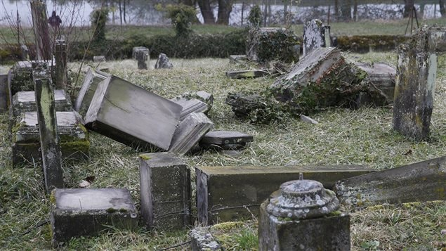 En febrero de 2015, el cementerio judío de Estrasburgo fue vandalizado.