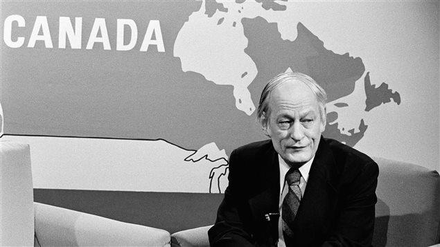 René Lévesque, figure marquante du mouvement indépendantiste québécois, en 1979     Photo : CP/AP