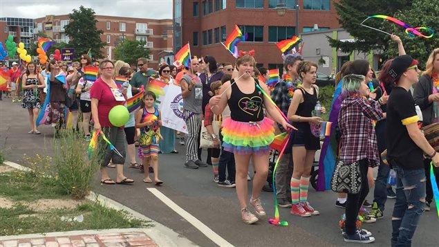 Desfile LGBT en Canadá