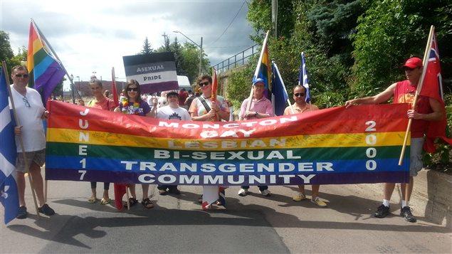 Affiche de la fierté LGBT