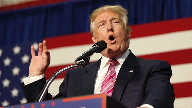 El candidato republicano sigue privilegiando los actos públicos.