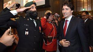 Justin Trudeau le 11 avril dernier