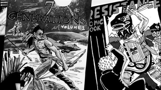 Détail de la bande dessinée d'Emanuelle Dufour « J'ai une histoire à raconter ».