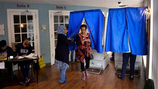 Votación en Pensilvania, uno de los distritos que estará bajo la mira de los observadores.