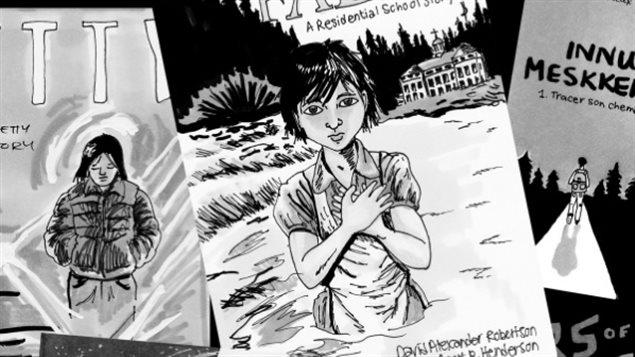 Détail de la bande dessinée « J'ai une histoire à raconter » d'Emanuelle Dufour