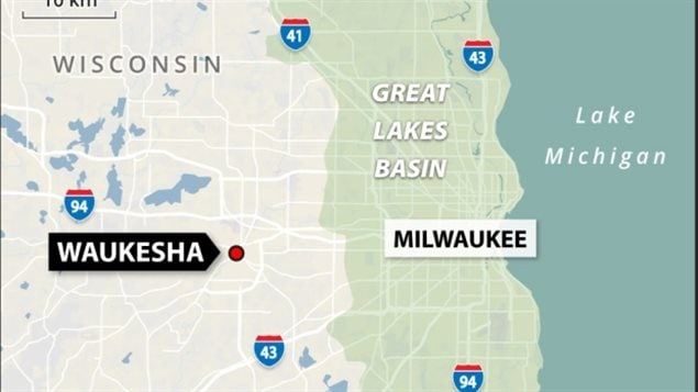 Waukesha lies just outside the Great Lakes basin area and so through international agreement would not normally be allowed to withdraw water from the lake. A special deal, many say could be see as precedent setting, will allow it to take water from Lake Michigan