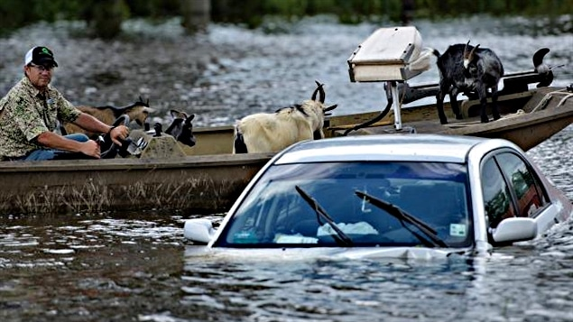 Inondations en Louisiane