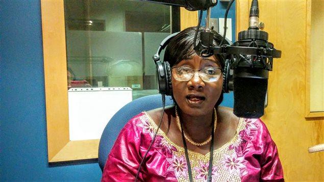Mama Koité Doumbia, de passage à Radio Canada International