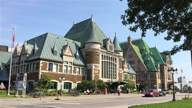 La Gare du Palais a 100 ans.