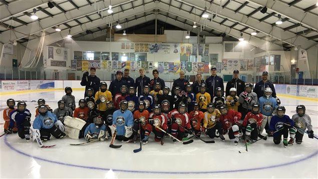 Plus d'une centaine de jeunes participent au camp-école de Hockey Est-du-Québec à Carleton-sur-Mer