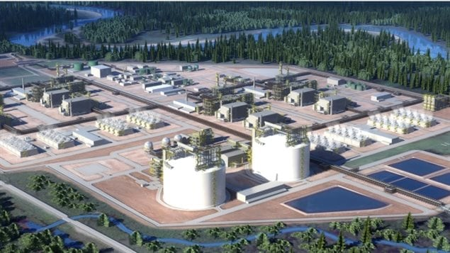 There are 18 proposed liquefied natural gas projects planned for the province of British Columbia.