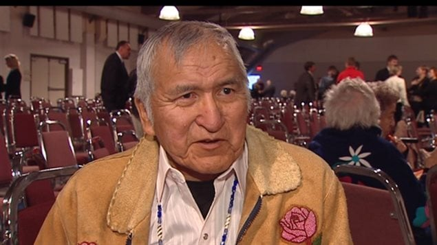Raymond Jackson, ancien chef du Yukon