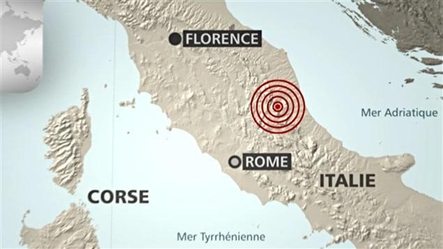 Séisme en Italie : le Canada solidaire