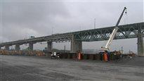 Où en est la construction du nouveau pont Champlain?