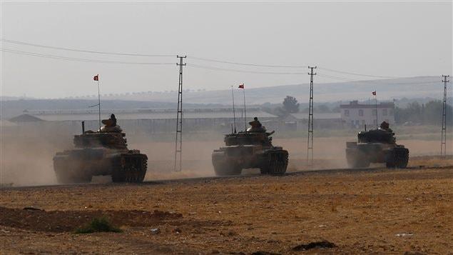 La Turquie lance une opération militaire sans précédent — Syrie