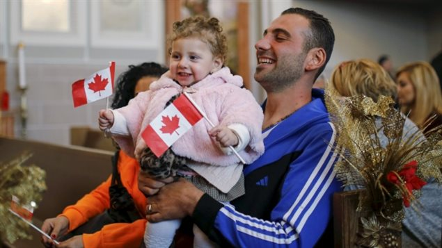 Welcomed in Toronto in January 2016, Kevork Jamgochian and his daughter Madlin were among the nearly 30,000 Syrian refugees resettled in Canada so far.