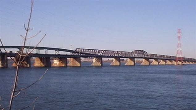 The Victoria Bridge in Montreal, over 150 years later, still serving thousands of commuters and rail traffic every day.