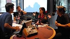 Les com�diens Guillaume Lemay-Thivierge et Madeleine P�loquin et le r�alisateur Alain DesRochers