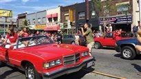 Un défilé en l'honneur des athlètes olympiques canadiens à Toronto