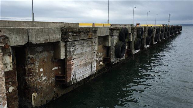 Le quai a besoin de travaux estimés entre 15 et 16 millions de dollars.