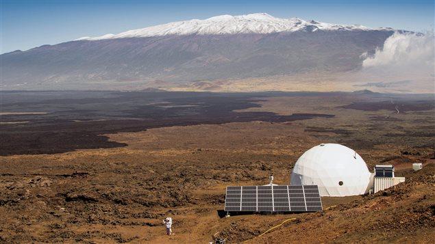 Un dôme de la Nasa pour simuler un voyage sur Mars.