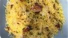 Pâtes aux champignons homards et au parmesan