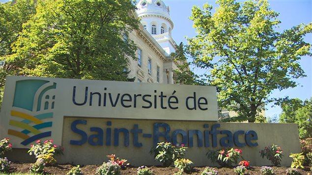 L'Universit� de Saint-Boniface.