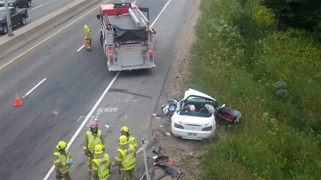 Un jeune homme de 19 ans est mort dans l'accident.