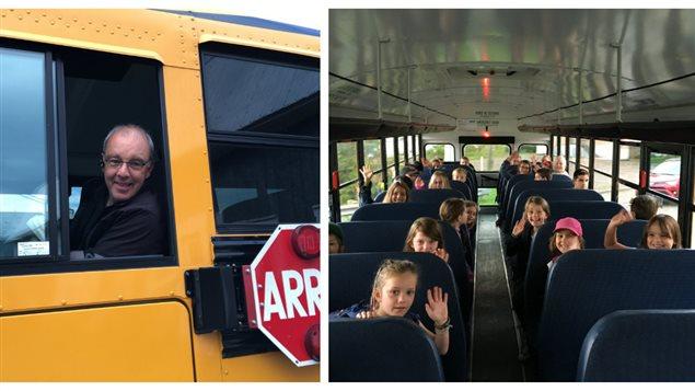 C'est jour de rentrée pour ces élèves de l'école primaire Bourg de Carleton-sur-Mer