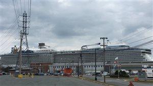 Le paquebot Anthem of the Seas à Halifax en 2016.