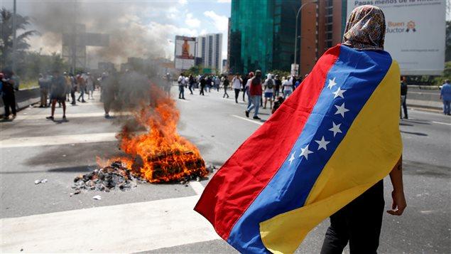 Venezuela-manifestation