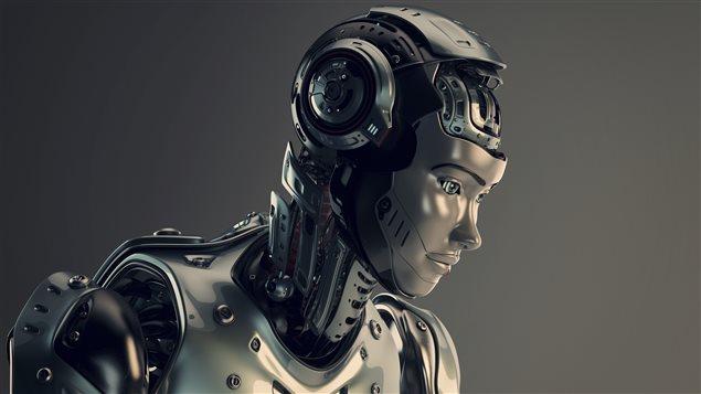Un robot.