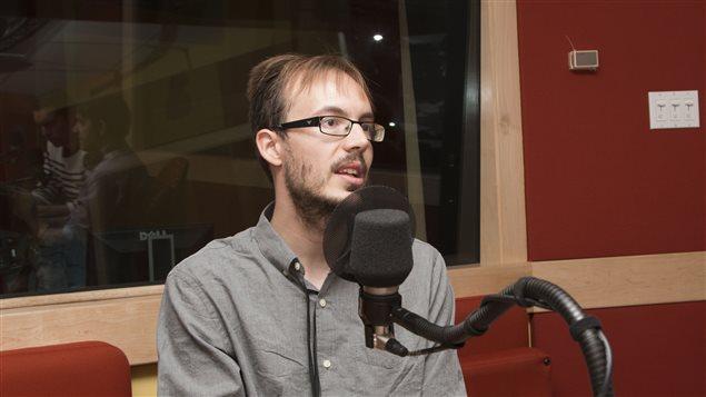 Julien Brault, fondateur de l'entreprise Hard Bacon