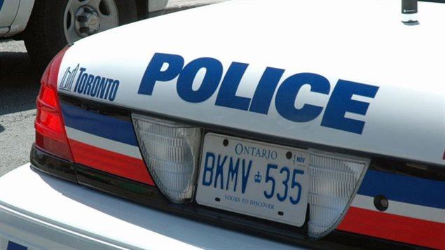 Une autopatrouille de la police de Toronto