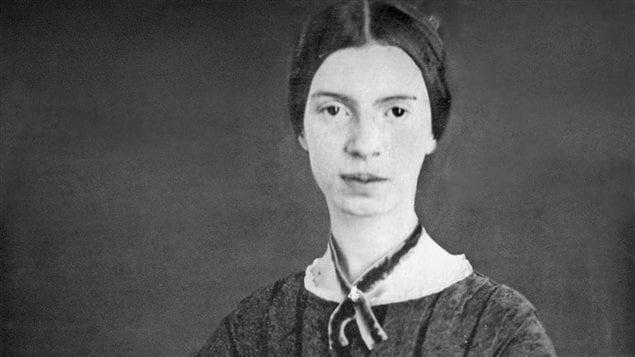 Emily Dickinson (1830-1886). Détail d'un daguerréotype de 1846-47