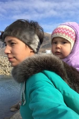 Nancy Mike takes her daughters to her hometown of Pangnirtung in Nunavut to help them learn Inuktitut and Inuit tradition.