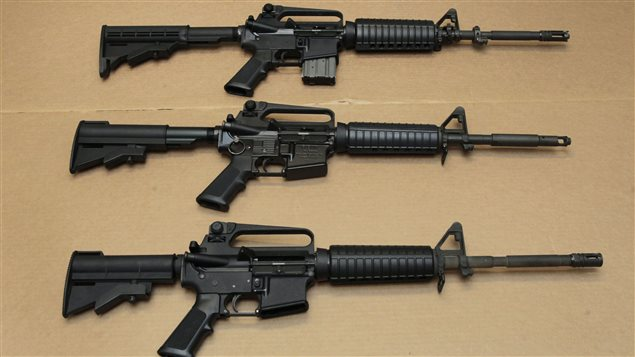 The Liberal government has rejected an e-petition to reclassify the AR-15 rifle as an unrestricted weapon.