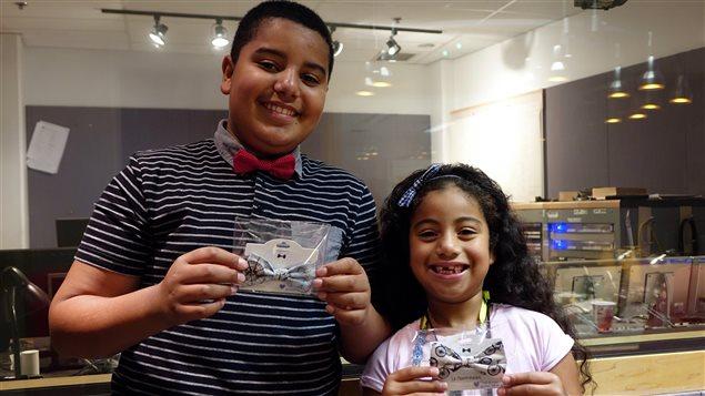 Noé et Alice Poblete, deux jeunes entrepreneurs qui ont créé l'entreprise Double identité