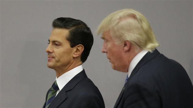 El enfrentamiento entre ambos mandatarios ha hecho subir la popularidad de Peña Nieto.
