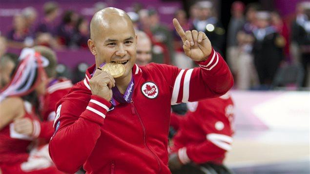 David Eng, triple médaillé paralympique, portera le drapeau pour Équipe Canada lors de la cérémonie d'ouverture des jeux paralympiques de Rio
