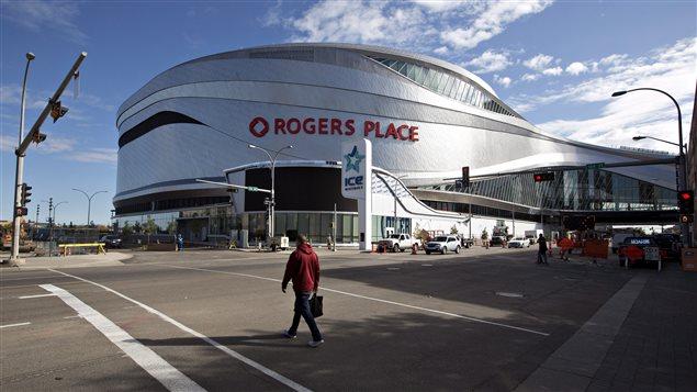 La Place Rogers à Edmonton.