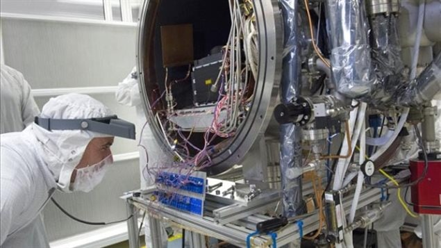 Simulated testing in-situ of the OSIRIS-REx laser altimeter uses sophisticated mapping technology developed by Canadian researchers and supplied by the Canadian Space Agency.