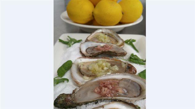 La recette d'Éric Marle : Les huîtres reviennent en septembre!