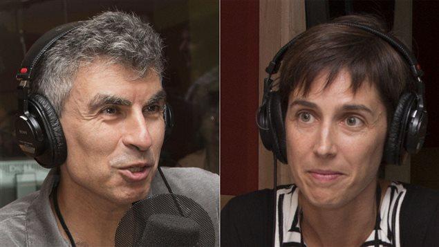 Yoshua Bengio et Joëlle Pineau