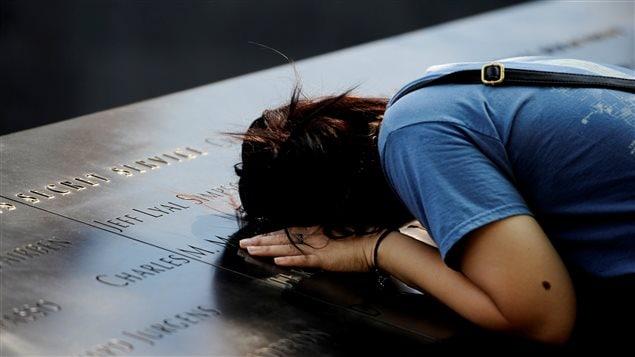 Les émotions étaient fortes pour les proches des victimes du World Trade Center.